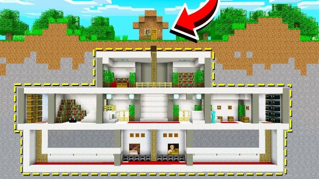 BUILDING THE BEST DIRT HOUSE IN MINECRAFT!