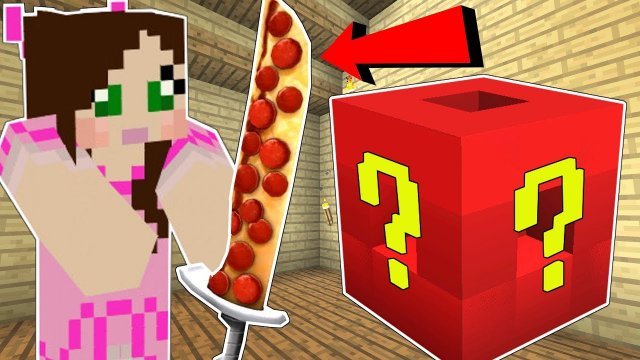 Minecraft: ROBLOX LUCKY BLOCK!!! (ROBLOX IN MINECRAFT!) Mod Showcase