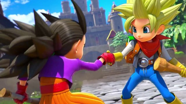 Dragon Quest Builders 2- Male Protagonist Opening Movie