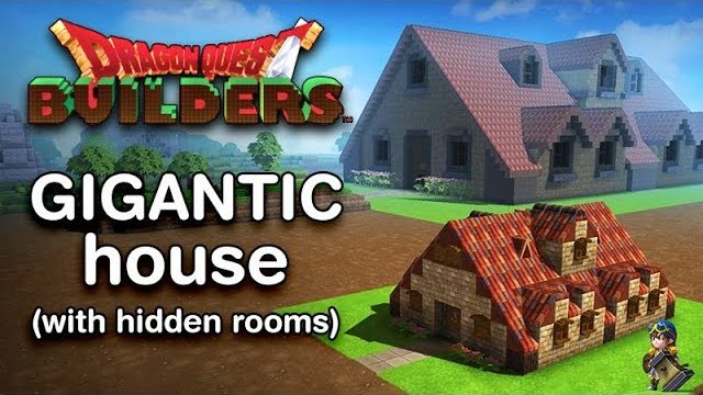 Dragon Quest Builders - Gigantic House