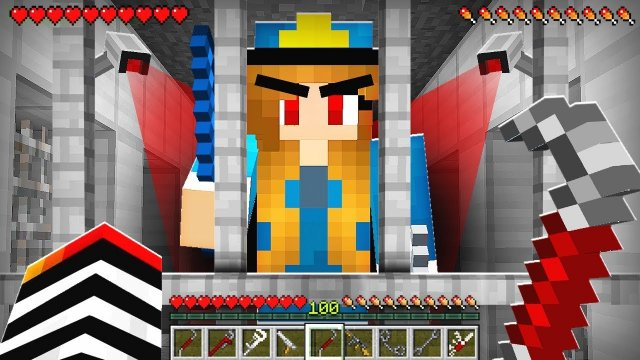 HOW TO PLAY AS A PRISONER in MINECRAFT!