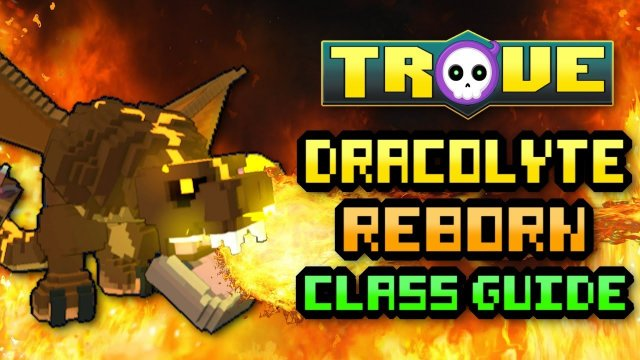 "TROVE HEROES ""DRACO REWORK"" GUIDE! DRACOLYTE ULTRA SHADOW TOWER & U9 TUTORIAL 2018!"