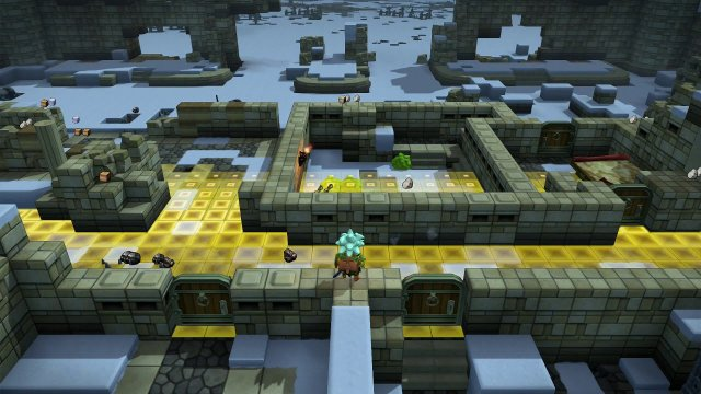 Dragon Quest Builders 2 - Build War Room and Castle Walls in Moonbrooke Walkthrough