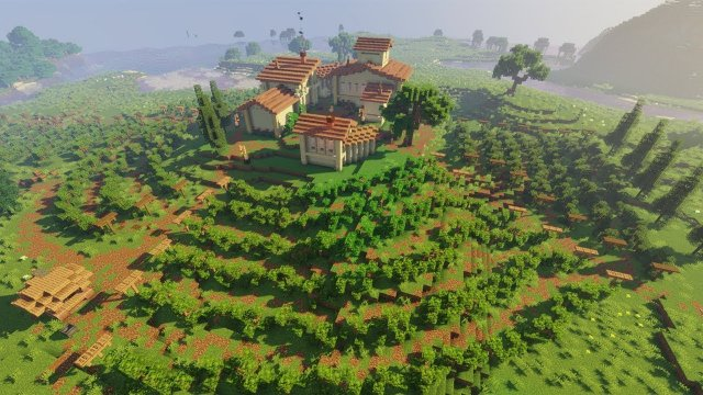 Vineyard | Minecraft Farm Build Timelapse [Speed Build]