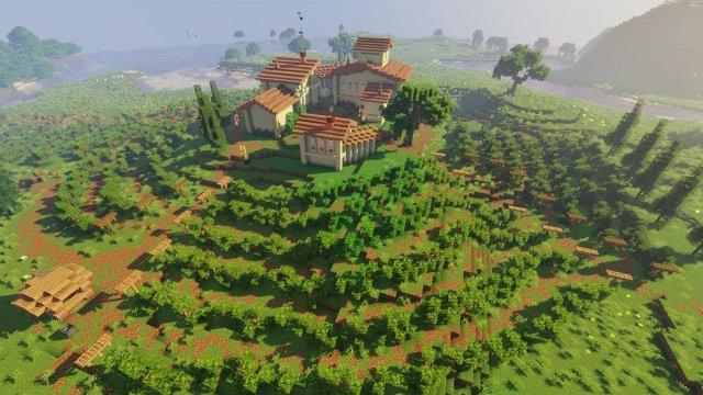 Vineyard | Minecraft Farm Build Timelapse [Speed Build]