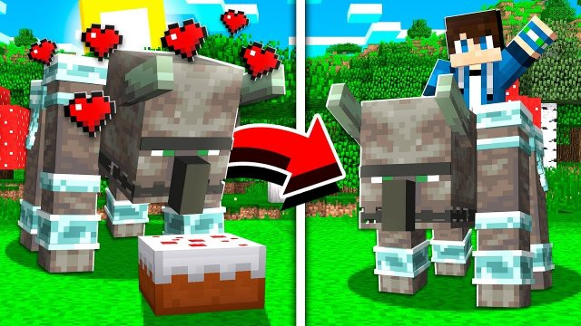How to TAME AND RIDE RAVAGERS in Minecraft! (Pocket Edition, Xbox, PC)