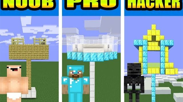 Monster School : EPIC BUILD A NEW HOUSE FOR ENDER DRAGON - Minecraft Animation