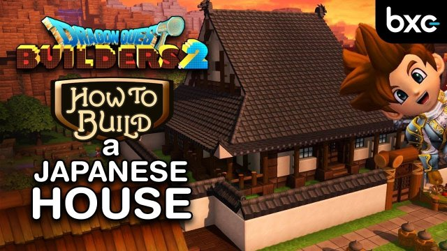 Dragon Quest Builders 2 - How to build a Japanese House