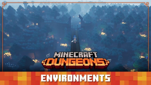 Minecraft Dungeons Diaries: Environments
