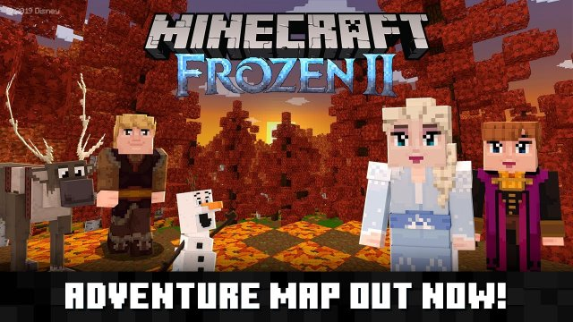 Minecraft meets Frozen