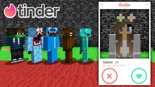 TINDER IN MINECRAFT